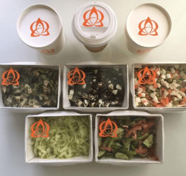 Доставка еды на дом и в офис